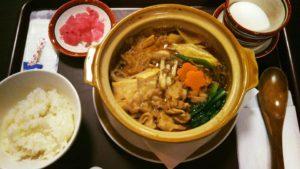 20161101すき焼き風定食
